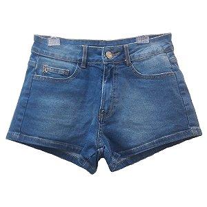 Shorts Jeans Infantil Feminino Authoria Básico
