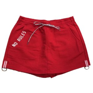 Shorts Saia Infantil I'am Authoria Moletinho - Vermelha