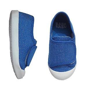 Tênis Infantil Menino Babu Uabu Casual Velcro - Azul