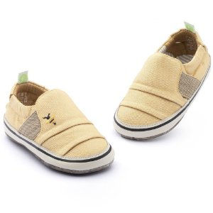 Tênis Infantil Slip On Tip Toey Joey Slippy - Mostarda