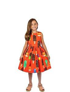 Vestido de Festa -  Picolé - Mactoot