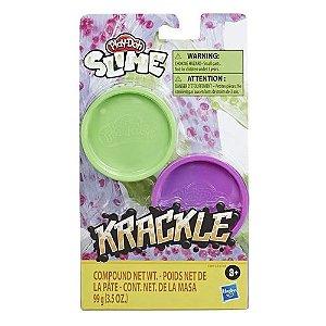 Massinha Play-Doh Krackle Slime Cores Sortidas Hasbro - E8788