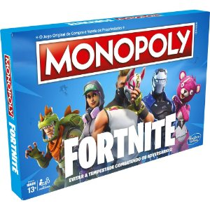 Jogo Monopoly Fortnite Hasbro - E6603