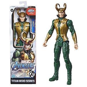 Boneco Avengers Loki Titan Hero Gear Hasbro - E7874
