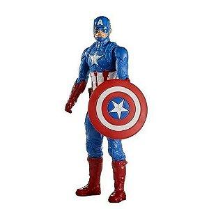 Boneco Avengers Capitão America Titan Hero Hasbro - E7877