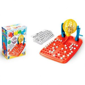 Jogo do Bingo com 100 Cartelas - Toia