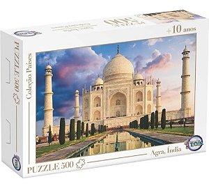 Quebra-Cabeça Puzzle Toia 500 peças Taj Mahal Agra Índia