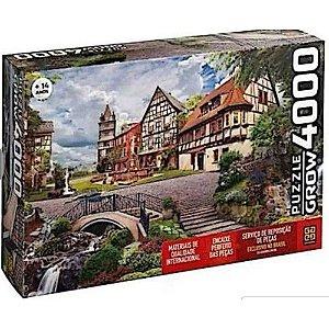 Quebra-Cabeça Puzzle Grow 4000 peças Vila Européia