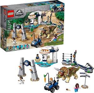 LEGO Jurassic World Fúria do Triceratops