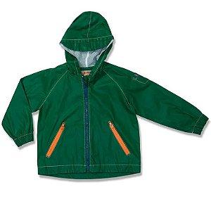 Jaqueta Infantil Green Corta Vento Verde