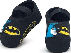 Meia Sapatilha Puket Antiderrapante Batman
