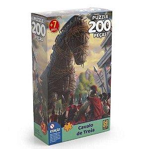 Quebra-Cabeça Puzzle Grow 200 peças Cavalo de Tróia