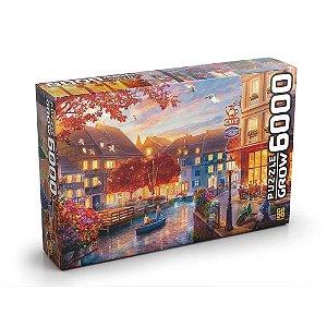 Quebra-Cabeça Puzzle Grow 6000 peças Le Petit Café
