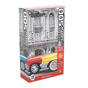 Quebra-Cabeça Puzzle Grow 500 peças Havana
