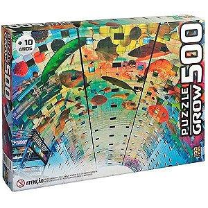 Quebra-Cabeça Puzzle Grow 500 peças Rotterdam