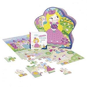 Livro Aventuras do Mundo Quebra-cabeça II: Poli, a Princesa Mimada