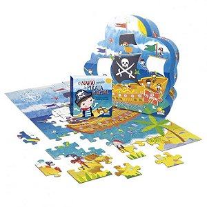 Livro Aventuras do Mundo Quebra-cabeça II: Navio do Pirata Percival