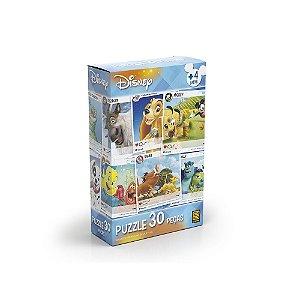 Quebra-Cabeça Puzzle Grow 30 peças Disney