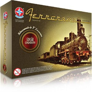 Trem Elétrico Ferrorama - Edição Comemorativa