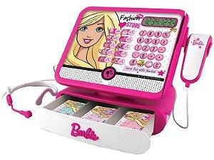 Caixa Registradora Barbie Luxo - Fun 72749