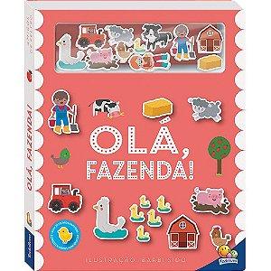 Livro Interativos Amigos de Feltro: Olá, Fazenda!