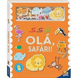 Livro Amigos de Feltro: Olá, Safári!
