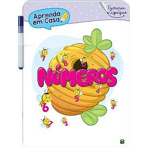 Livro Aprenda em Casa Escreva e Apague: Números