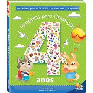 Livro Histórias Para Crianças... 4 anos