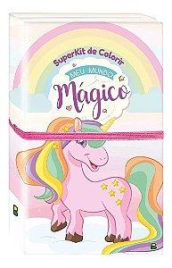 Superkit de Colorir: Meu mundo mágico