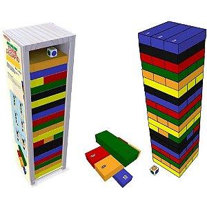 Torre Desafio 60 Peças Carimbras