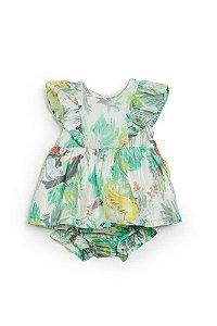 Vestido Infantil Fábula Com Calcinha Voo Livre