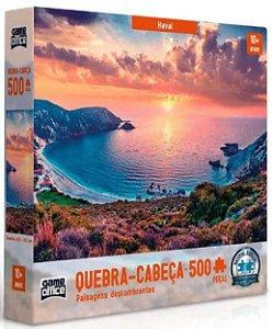Quebra-Cabeça Puzzle Game Office 500 Peças Paisagens deslumbrantes: Havaí