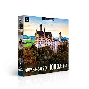 Quebra-Cabeça Puzzle Game Office 1000 Peças Castelo De Neuschwanstein
