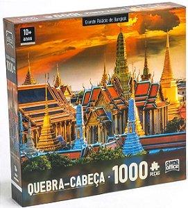 Quebra-Cabeça Puzzle Game Office 1000 Peças Grande Palácio de Bangkok