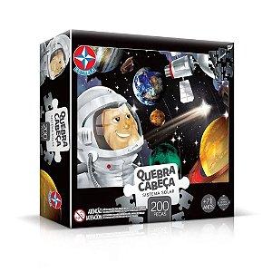 Quebra-Cabeça Puzzle Estrela 200 peças Sistema Solar