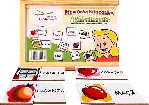 Memória Educativa Alfabetização 40 Peças