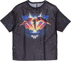 Camiseta Infantil Authoria Wonder Womam 7252