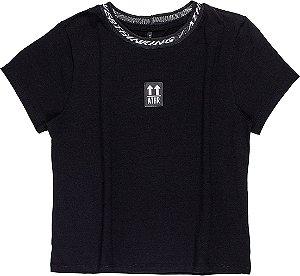 Camiseta Infantil Authoria basic retílinea 7004