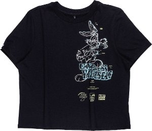 Camiseta Infantil Authoria Looney Tunes 7256