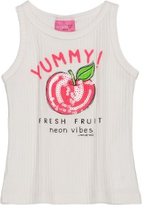 Camiseta Regata Infantil Momi Yummy 3199