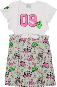 Vestido Infantil Momi Dog Days 9044