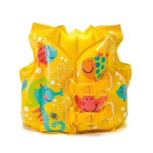 Colete Infantil Infláve Estampa Peixes Index - 59661