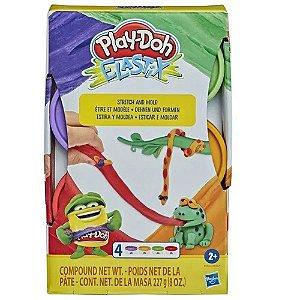 Massinha Play-Doh Elastix Foguete - Hasbro