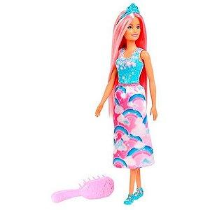 Boneca Barbie Dreamtopia Cabelos Coloridos