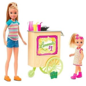 Boneca Barbie Stacie Stand De Limonada