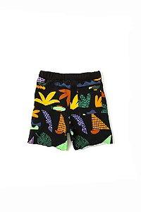 Shorts Infantil Bento Silk Encantado Mescla
