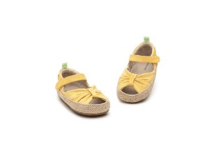 Espadrile Tip Toey Joey Coasty Green Pequi Canvas Beeswax