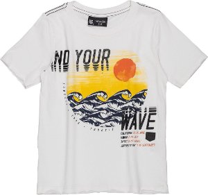 Camiseta Youccie Ondas Off White