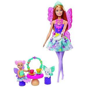 Boneca Barbie Dreamtopia Dia de Pets