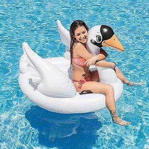 Boia Bote Inflável para Piscina Cisne Branco Intex - 7557NP